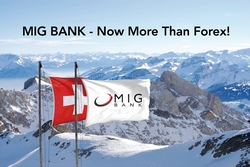 MIG BANK the Leading Swiss Forex Broker Obtains Securities Dealer License