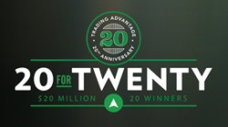 Trading Advantage Celebrates 20 years of Trading Education by Giving Away up to $20 million in Cutting Edge Contest